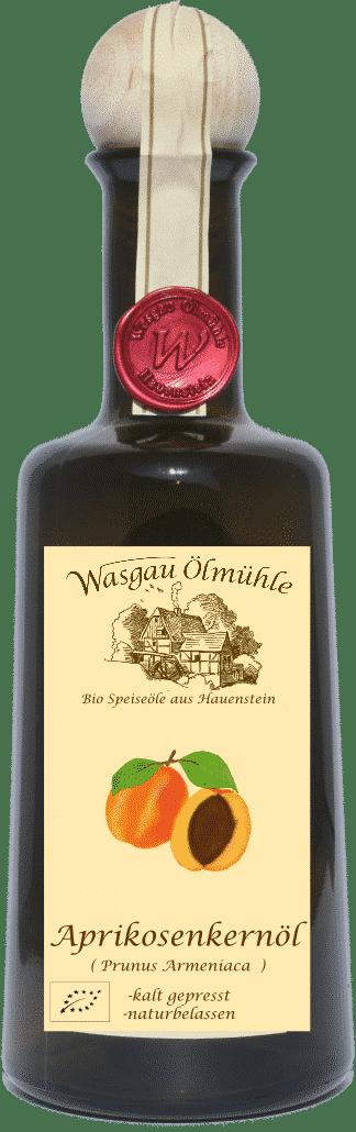 Bio Aprikosenkernöl von Wasgau Ölmühle