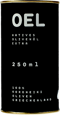 Bio natives Koroneiki-Olivenöl extra 250ml von OEL-Berlin