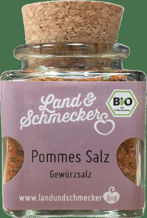 Bio Pommes Salz von Land&Schmecker