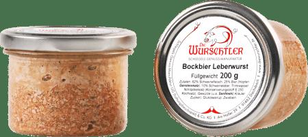Bockbier Leberwurst von Die Wurschtler