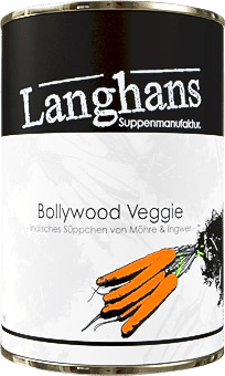 Bollywood Veggie Suppe von Langhans Suppenmanufaktur