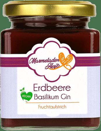 Erdbeere Basilikum Gin