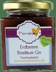 Erdbeere Basilikum Gin von Marmeladenherz