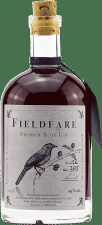 Fieldfare Premium Sloe Gin von Diemelstrand Distillers