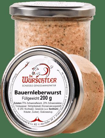 Fränkische Bauernleberwurst