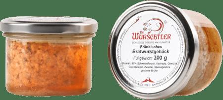 Fränkisches Bratwurstgehäck von Die Wurschtler