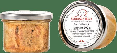 Fränkisches Senffleisch von Die Wurschtler
