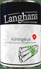 Frühlingskuss Spargelsüppchen von Langhans Suppenmanufaktur