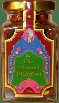 Gebrannte Bio Mandeln Mumbai von Hamburger Goldmandeln