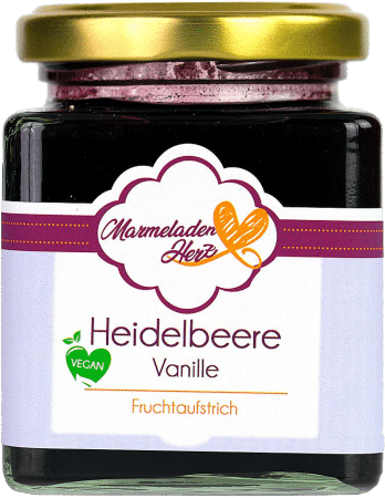 Heidelbeere Vanille