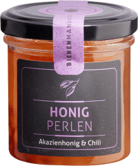 Honigperlen Akazienhonig & Chili von Bienenmanufaktur