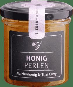 Honigperlen Akazienhonig & Thai Curry von Bienenmanufaktur