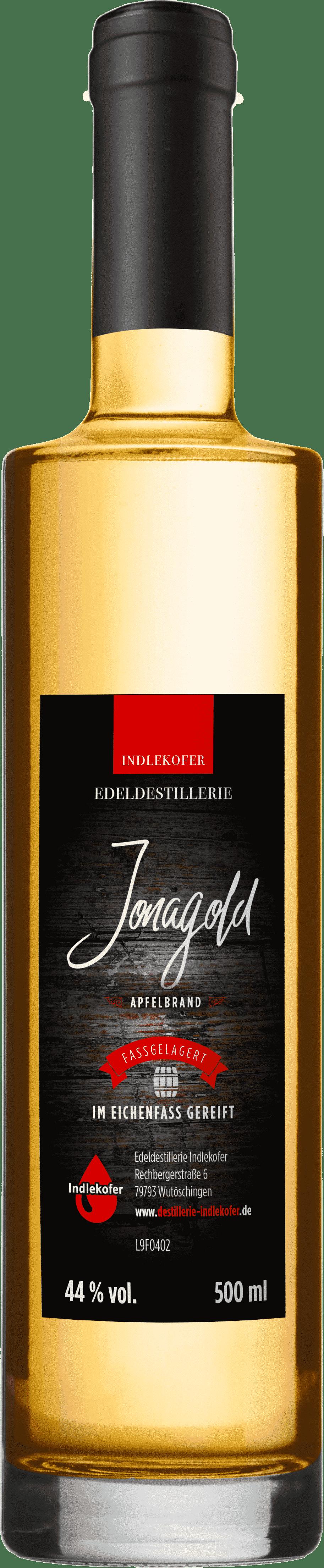 Jonagold Apfelbrand im Eichenfass gereift von Edeldestillerie Indlekofer