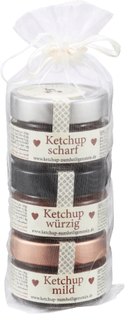 Ketchup Sortenmix 3er-Set von Zum Heiligen Stein