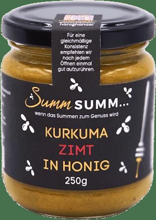 Kurkuma Zimt in Honig von Summ SUMM Honighandel
