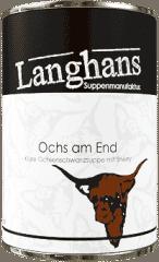 Ochs am End - Ochsenschwanzsuppe von Langhans Suppenmanufaktur