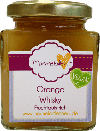 Orange Whisky von Marmeladenherz