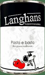 Pasta e Basta Bolognese von Langhans Suppenmanufaktur