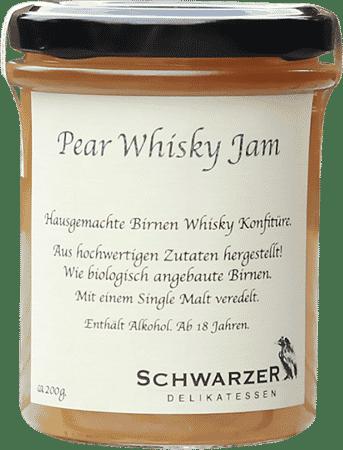 Pear Whisky Jam von Schwarzer Rabe Delikatessen