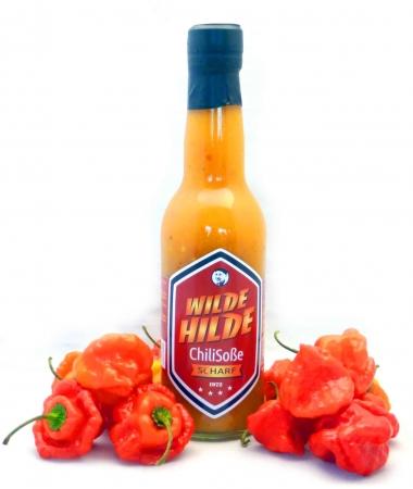 Pfirsich Chili Soße von Wilde Hilde