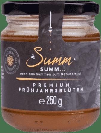 Premium Frühjahrsblütenhonig von Summ SUMM Honighandel