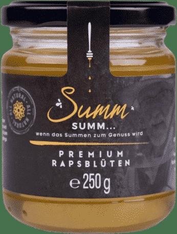 Premium Rapsblütenhonig von Summ SUMM Honighandel
