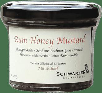 Rum Honey Mustard von Schwarzer Rabe Delikatessen