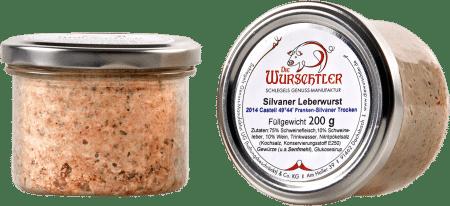Silvaner Leberwurst von Die Wurschtler
