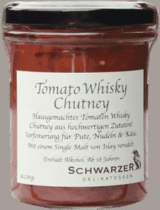 Tomato Whisky Chutney von Schwarzer Rabe Delikatessen