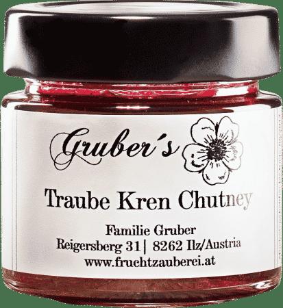 Traube Kren Chutney von Gruber´s Fruchtzauberei