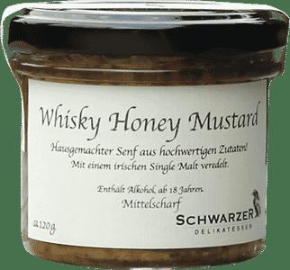 Whisky Honey Mustard von Schwarzer Rabe Delikatessen