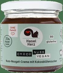 Bio Choco Nuss Creme vegan von HaselHerz
