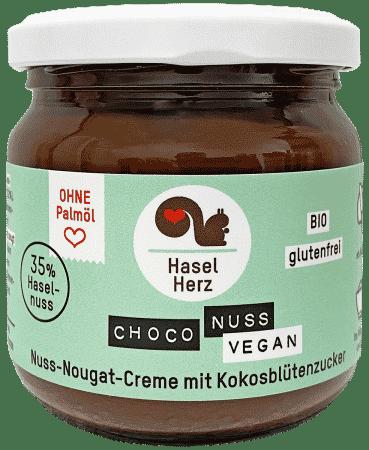 Bio Choco Nuss Nougat Creme vegan