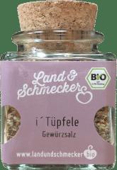 Bio i'Tüpfele Gewürzsalz von Land&Schmecker
