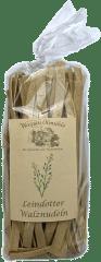 Bio Leindotternudeln von Wasgau Ölmühle