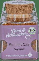 Bio Pommes Salz
