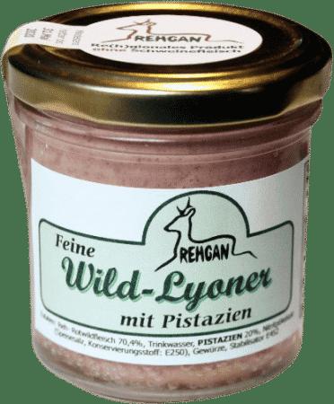 Feine Wild-Lyoner mit Pistazien von REHGAN