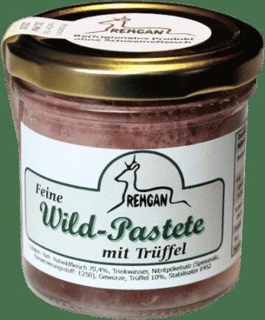 Feine Wild-Pastete mit Trüffel von REHGAN