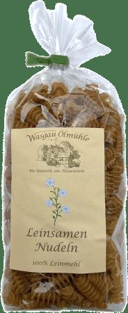 Leinsamennudeln von Wasgau Ölmühle