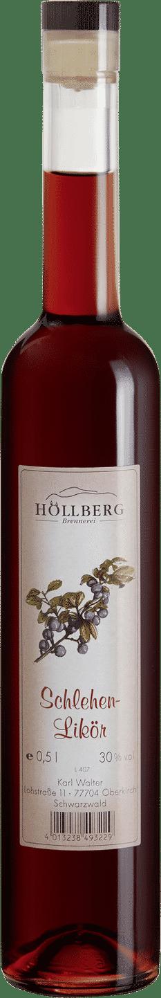 Schlehenlikör von Höllberg