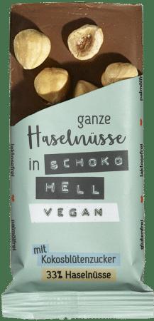 Veganer Bio-Schokoriegel hell (8er-Box)
