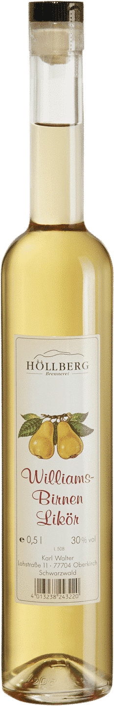 Williams-Birnen-Likör von Höllberg