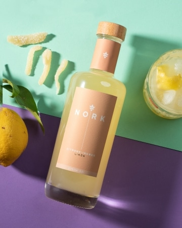 Zitrone-Ingwer Likör