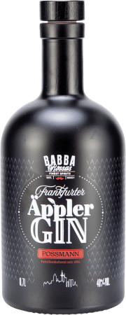 Babbas Äppler Gin