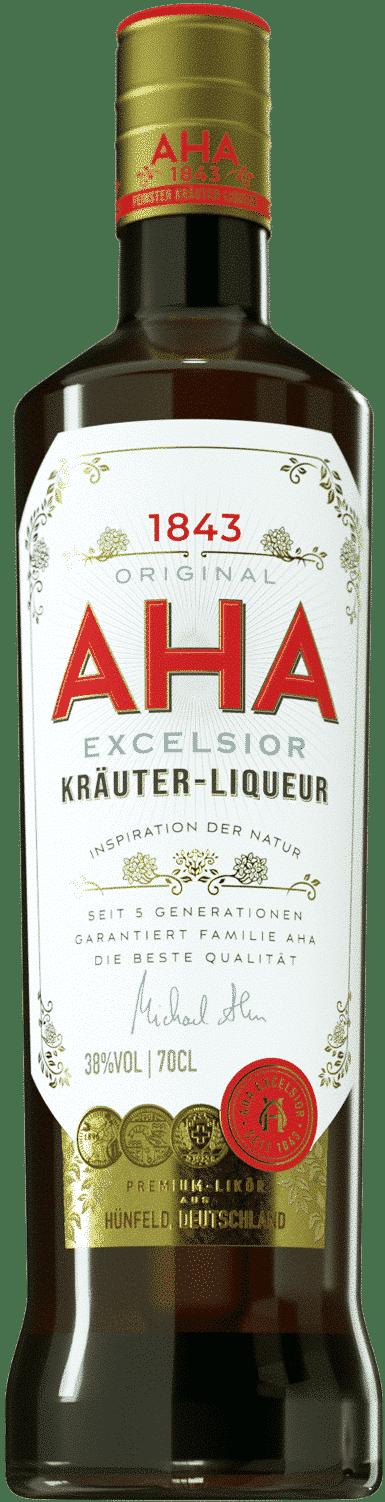 Aha Excelsior Kräuterliqueur von AHA Excelsior Kräuterliqueur