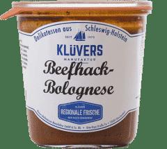 Beefhack-Bolognese 450g von KLÜVERS