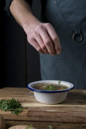 Bio Hühner-Kraftsuppe von ika ika