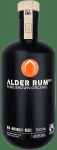 Bio Rum PURE.BROWN.ORGANIC. von ALDER RUM Bio