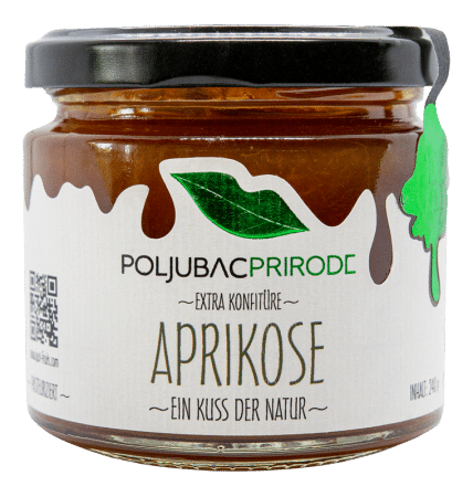 Extra Konfitüre Aprikose 240g von Just Fruits