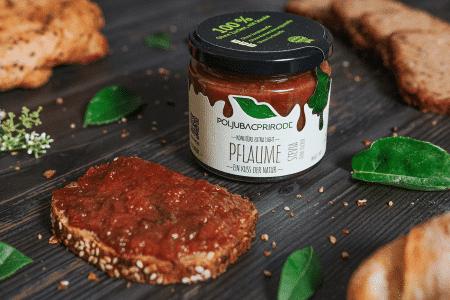 Extra Konfitüre Pflaume mit Stevia 240g von Just Fruits